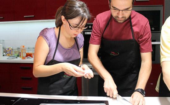 team building taller de cocina