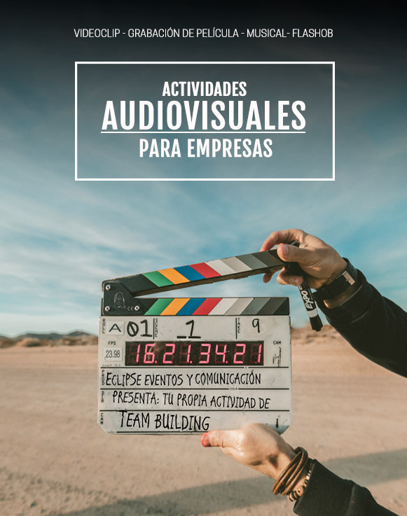 Actividades audiovisuales para empresas