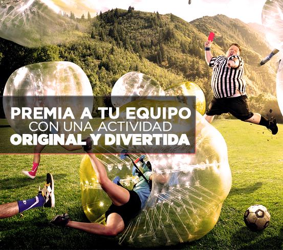 Fútbol burbuja para empresas