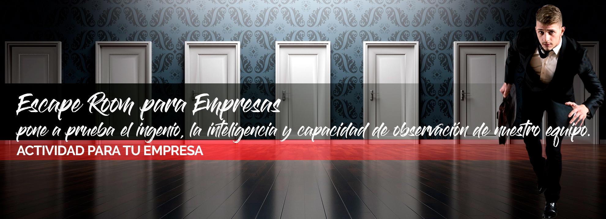 Escape room para empresas