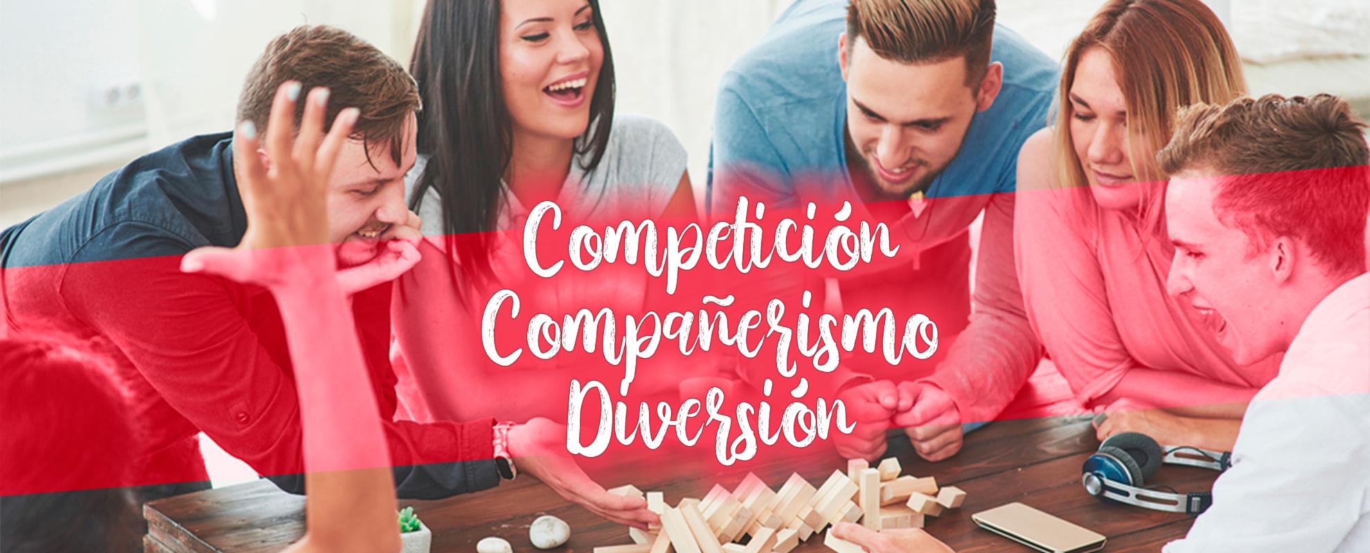 competición, compañerismo, diversión