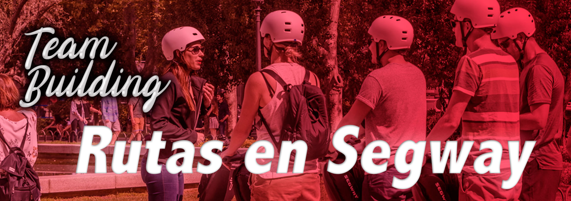 team building, rutas en segway