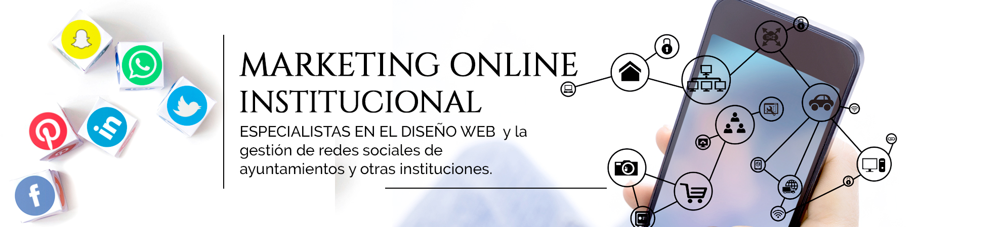 marketing online institucional