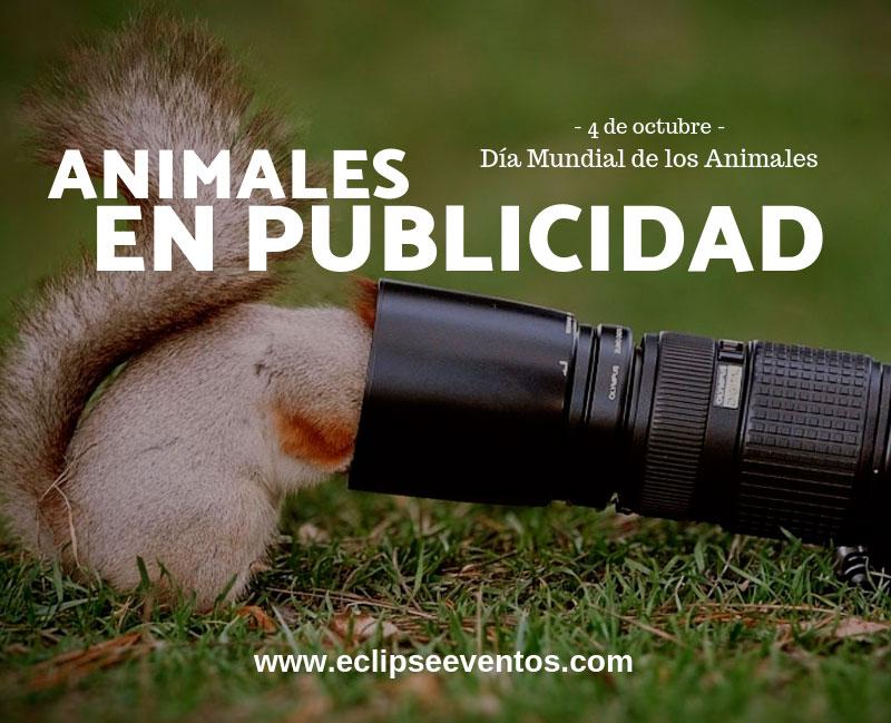 Animales en publicidad