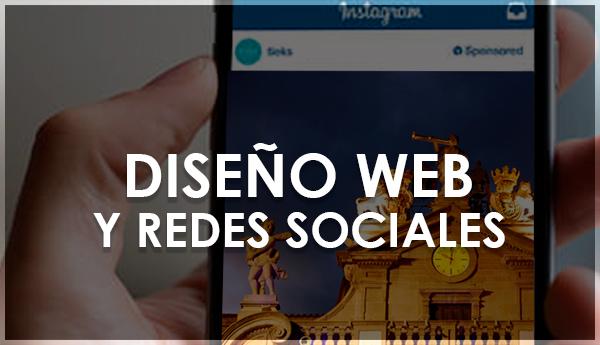 diseño web y redes sociales