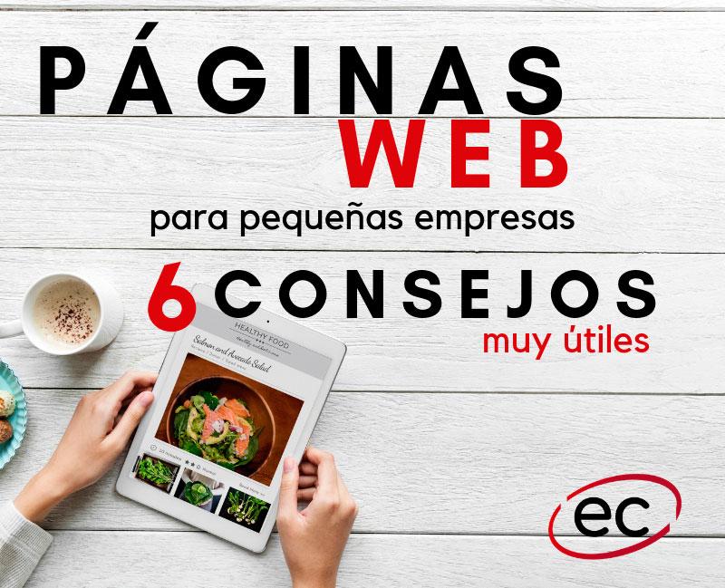 Páginas web para pequeñas empresas